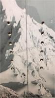 "Alaskan Brewing Company Snowboard/Decor 62 1/2"""