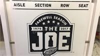 Miller Lite Farwell Joe Louis Season Fold Up