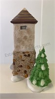 The heritage village Silo and Hay Shed set of 2