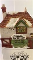 Dickens village series Abel Breslau Butcher Shop