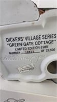 "Dickens village series ""Green Gate Cottage"""