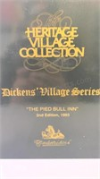 Dickens village series The Pied Bull Inn 2nd