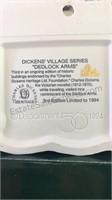 Dickens village series Dedlock Arms 3rd edition