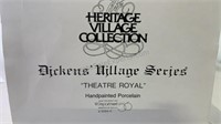 Dickens village series Theatre Royal