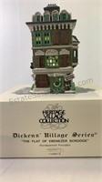 "Dickens village series ""The Flat of Ebinezer"