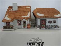 Dickens Village series Barley-Bree Farmhouse and