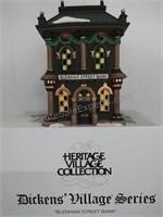 Dickens Village Series Blenham Street Bank