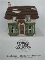 Dickens Village series Cottage Toy Shop