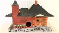 Dickens Village Series Train and Lighted Station