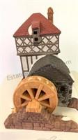 Dickens Village Series Blythe Pond Mill House