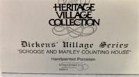 """Dickens Village Series """"Scrooge and Marley"""