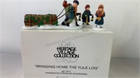 """Heritage village collection """"Bringing Home the"""
