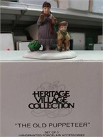 Heritage Village Collection vision of Christmas