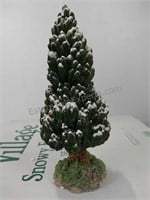 Department 56 Village snowy Evergreens set of 6