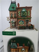 Department 56 Thomas Mudge Time Pieces