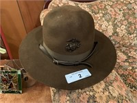 VTG MARINES TI STYLE DRILL INSTRUCTOR HAT