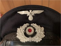 WWII NAZI GERMANY ERA ARMY MEDICAL OFFICERS HAT