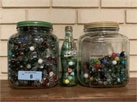 VERY LARGE LOT OF MARBLES