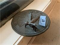 HUMMINGBIRD THEMED SUNDIAL SUN DIAL
