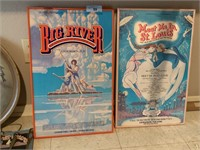 2PC MUSICALS FRAMED WALL HANGINGS