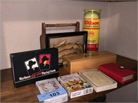 LOT OF VARIOUS GAMES / DOMINOES / CARDS