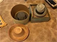 LOT OF VTG HATS