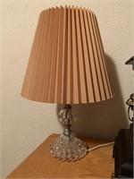 2PC VTG GLASS LAMPS