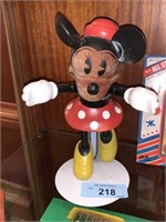 LIMITED EDITION NUMBERED WOOD MINNIE MOUSE