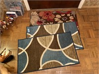 LOT OF THROW RUGS
