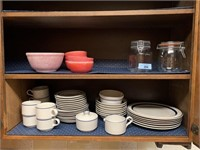 CONTENTS OF CABINET CHINA MORE