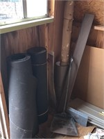 CONTENTS ALONG WALL / PIPES / PANEL