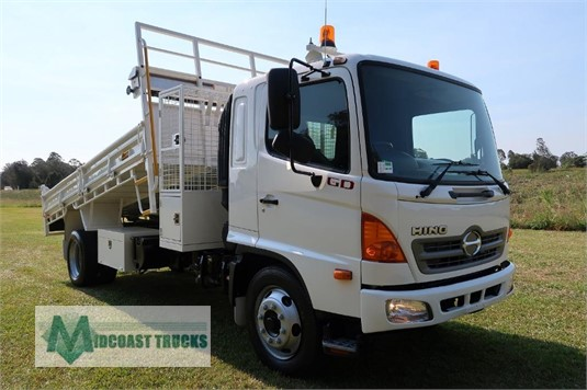 2008 Hino 500 Series 1227 GD Midcoast Trucks - Trucks for Sale