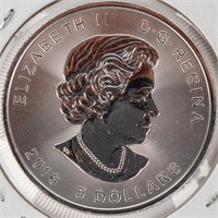 """Coin 2016 Canadian """"Superman"""" .999 Silver"""