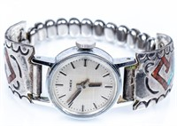 Jewelry Sterling Silver Watch, Ring & Key Ring