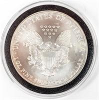 Coin 1999 American Silver Eagle Brilliant Unc.