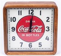 1930's Vintage Coca Cola Selecto Clock