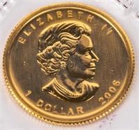 Coin 2006 Canada Gold 1/20th Oz. Maple Leaf