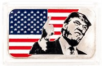 Coin .999 Fine Silver 1 Oz. Donald Trump