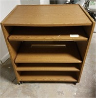 (25) Cart with 4-shelves $10.00 Reserve