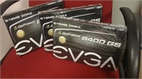 (34) EVGA 8400 GS Graphic Card $25.00 Reserve