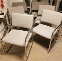 (46) Gray Side Chairs $30.00 Reserve