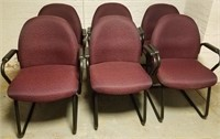 (48) Maroon Side Chairs $35.00 Reserve