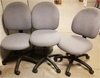 (49a - 49b) Periwinkle Task Chairs $25.00 Reserve
