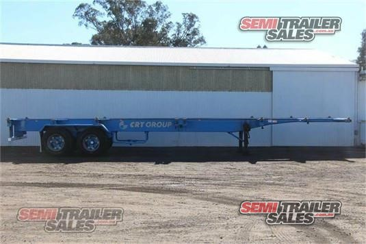 1998 Barker Skeletal Trailer Semi Trailer Sales - Trailers for Sale