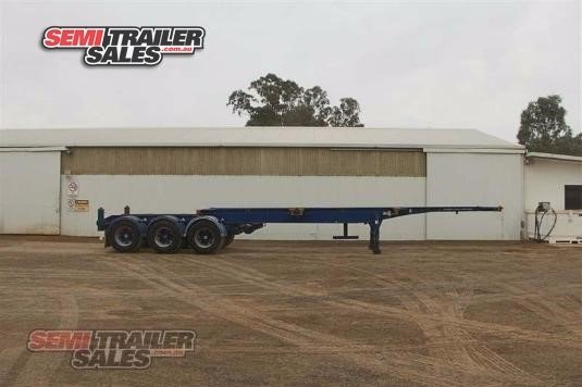 2002 Barker Skeletal Trailer Semi Trailer Sales - Trailers for Sale