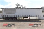 1990 Krueger Curtainsider Trailer Curtainsider Trailers