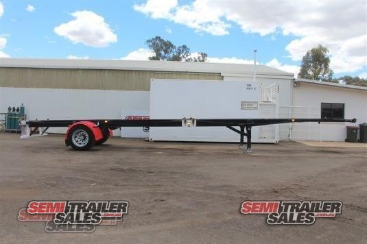 2014 Inair Skeletal Trailer Semi Trailer Sales - Trailers for Sale