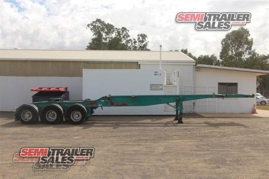 1998 Freighter Skeletal Trailer Semi Trailer Sales - Trailers for Sale