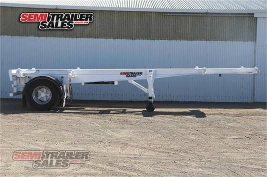 1997 Krueger Skeletal Trailer Semi Trailer Sales - Trailers for Sale