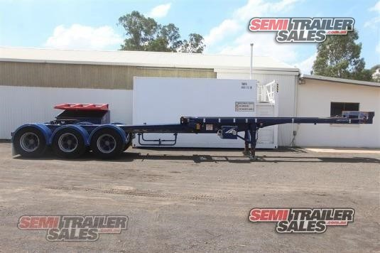 2007 Maxitrans Skeletal Trailer Semi Trailer Sales - Trailers for Sale